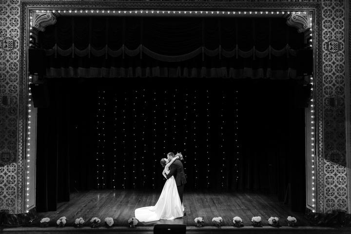 theatre wedding - The Knot